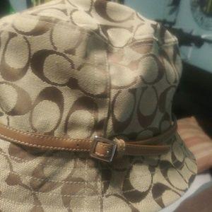 coach hat never worn authentic